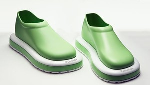 unknown green Mules