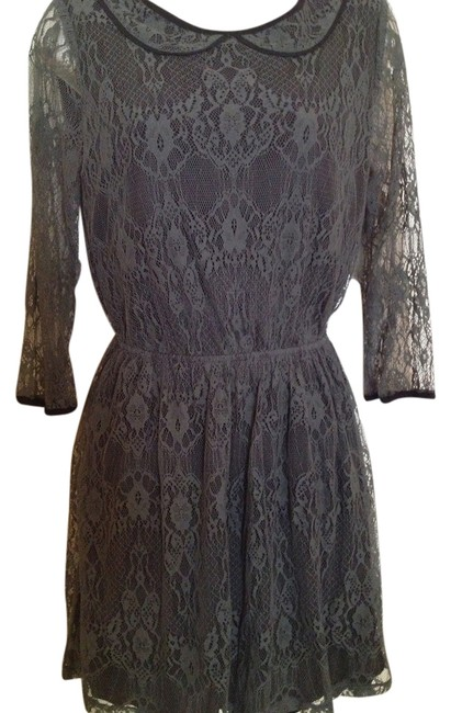 Preload https://item1.tradesy.com/images/mimi-chica-grey-lace-peter-pan-collar-above-knee-night-out-dress-size-8-m-14909620-0-1.jpg?width=400&height=650
