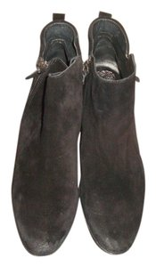 Vince Camuto Ankle Black Suede Boots