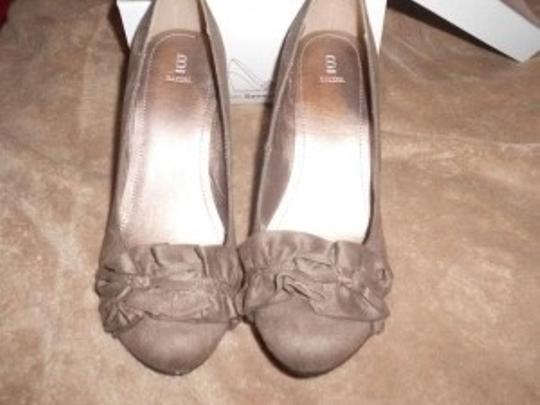 Bakers Wedge;taupe;bakers;comfortable Taupe Wedges