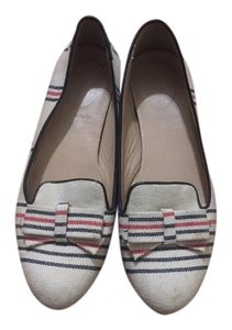 J.Crew Beige striped Flats