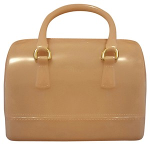 Furla Satchel in Pink Taupe