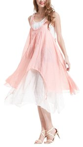 Simple couture short dress Light pink on Tradesy