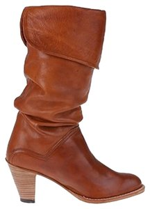 Frye Dorado Slouch Mid-heel Classic American Saddle Boots