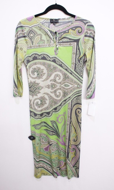 Preload https://item2.tradesy.com/images/etro-multi-color-green-print-paisley-or-mid-length-short-casual-dress-size-8-m-14910136-0-0.jpg?width=400&height=650