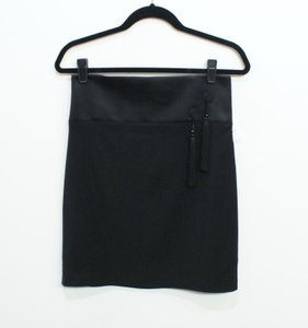 La Perla Satin Skirt Black