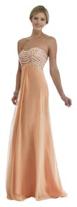 Morrell Maxie White Prom Evening Size2 Dress
