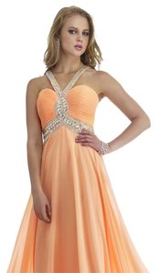 Morrell Maxie White Prom Evening Size 4 Dress
