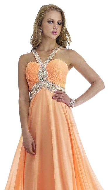 Preload https://item5.tradesy.com/images/morrell-maxie-orange-14439-long-formal-dress-size-4-s-14910409-0-1.jpg?width=400&height=650