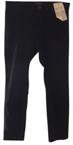 Banana Republic Low Rise Skinny Leg Corduroy Skinny Pants Black