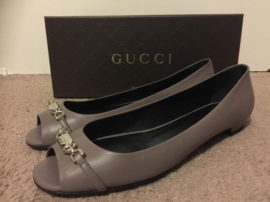 Gucci Grape Flats