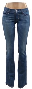 Elizabeth and James Sexy Celebrity Going Out Flare Leg Jeans-Light Wash