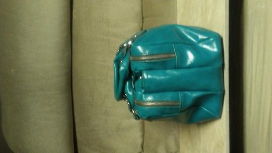 ALDO Satchel in Aqua blue