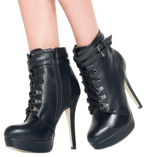 ShoeDazzle Black Fall Winter Zara Dana Boots