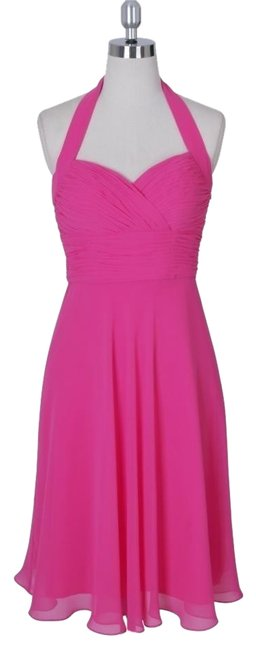 Preload https://item5.tradesy.com/images/pink-halter-sweetheart-pleated-waist-and-bust-chiffon-knee-length-cocktail-dress-size-4-s-1491154-0-0.jpg?width=400&height=650