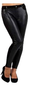 Other Black Faux Leatherette Leggings