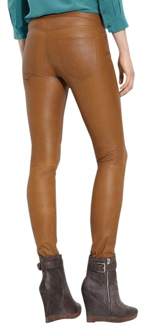 Preload https://img-static.tradesy.com/item/1491181/kenna-t-brown-leather-jeans-leggings-tan-leather-skinny-pants-size-2-xs-26-0-1-650-650.jpg