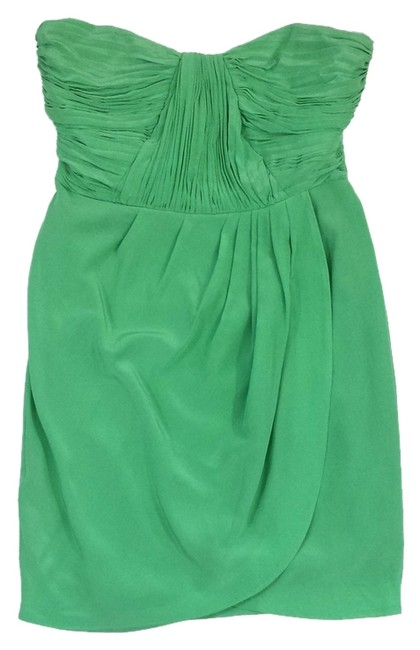 Preload https://item5.tradesy.com/images/shoshanna-green-silk-strapless-mini-short-casual-dress-size-8-m-14911819-0-1.jpg?width=400&height=650
