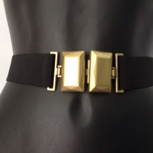 BCBGMAXAZRIA Bronze Buckle Belt