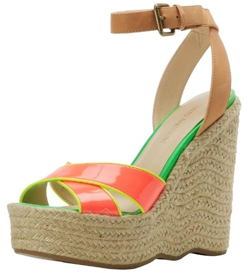 Preload https://item3.tradesy.com/images/enzo-angiolini-multicolor-new-womens-pink-leather-sandals-medium-wedges-size-us-95-regular-m-b-14912017-0-1.jpg?width=440&height=440