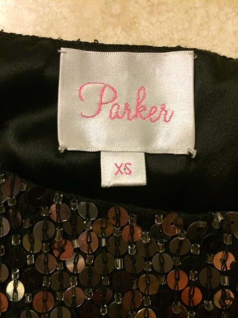 Parker Mini Skirt Black/Silver/Copper