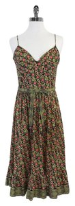 Plenty by Tracy Reese Floral Cotton Spaghetti Strap Dress