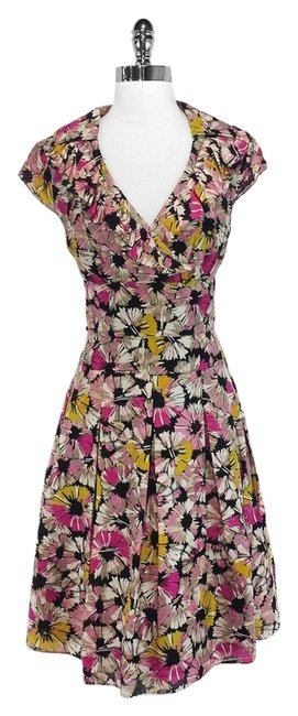 Preload https://img-static.tradesy.com/item/14912284/kay-unger-multi-color-floral-cotton-and-silk-above-knee-short-casual-dress-size-8-m-0-1-650-650.jpg