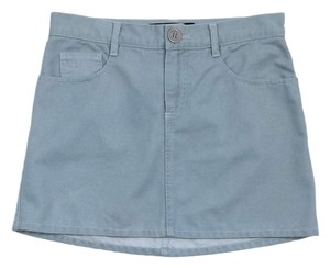 Marc Jacobs Light Blue Denim Mini Skirt
