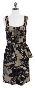 Trina Turk short dress Abstract Print Silk Sleeveless on Tradesy