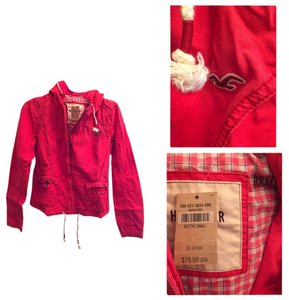 Hollister Coral Jacket