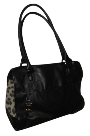 Preload https://item3.tradesy.com/images/tignanello-trim-black-with-animal-print-sides-leather-and-man-made-tote-14913802-0-1.jpg?width=440&height=440