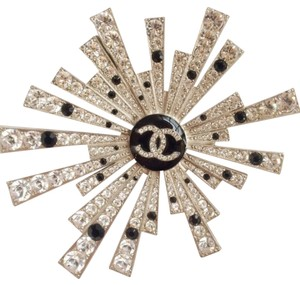 Chanel Chanel Crystal Starburst Brooch