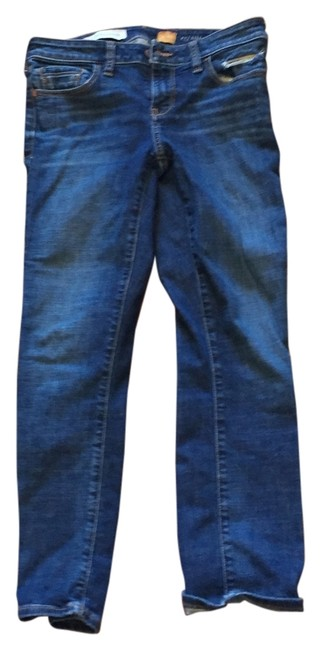 Item - Medium Blue Wash Pilcro Straight Leg Jeans Size 26 (2, XS)