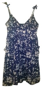 American Eagle Outfitters short dress Blue and White Print Ae Junior on Tradesy