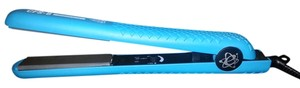 Evalectric The New Evolution flat iron 100% ceramic plates 1.25 CFS8 Ocean Blue