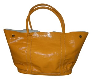 J.Crew Patent Leather Tote in gold
