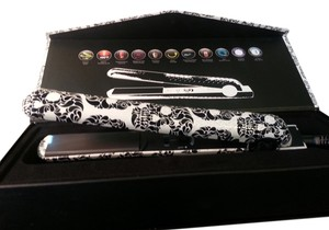 Evalectric The New Evolution flat iron 100% ceramic plates 1.25 Skull Fashion