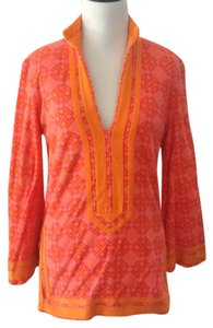 Tory Burch Pink Towel Chic Beach Tunic