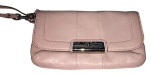 Coach Limited Edition Kristin Leather 48988 Light Pink Clutch