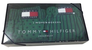 Tommy Hilfiger Mens Tommy Hilfiger Woven Boxers- Medium