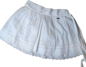 Hollister P2027 Mini Mini Skirt white