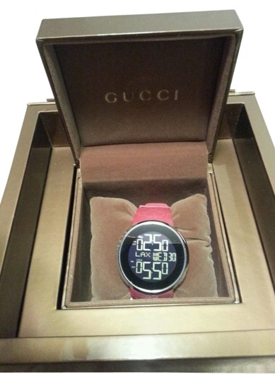 Preload https://item2.tradesy.com/images/gucci-red-l-gucci-collection-watch-149166-0-0.jpg?width=440&height=440