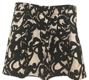 J.Crew Mini Skirt Black, White