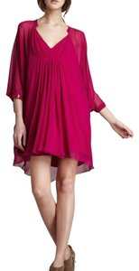 Diane von Furstenberg short dress Orchid on Tradesy