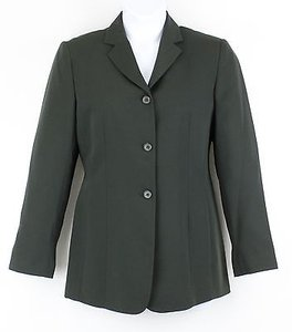 Style & Co Style Co 6413 Olive 3-button Blazer B64