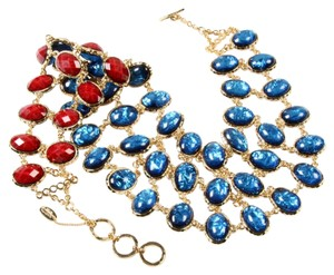 Amrita Singh Matching Set Amrita Singh Reversible Bib Necklace and Earring Set