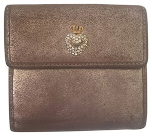 Juicy Couture Wristlet in Pewter