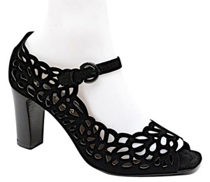 Aquatalia by Marvin K. Cutout Mary Jane Black Pumps
