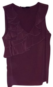 Sandra Ingrish Top Purple Taupe