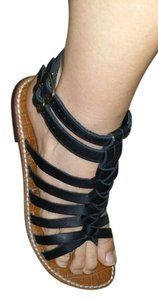 Sam Edelman Gladiator Black Sandals